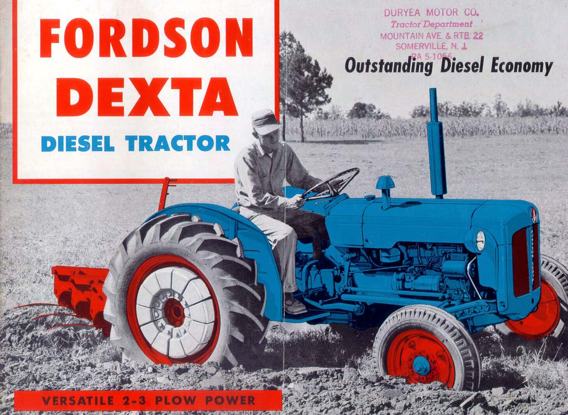 Ford Dexta Tractor Information : Manuals forum expanded thread page