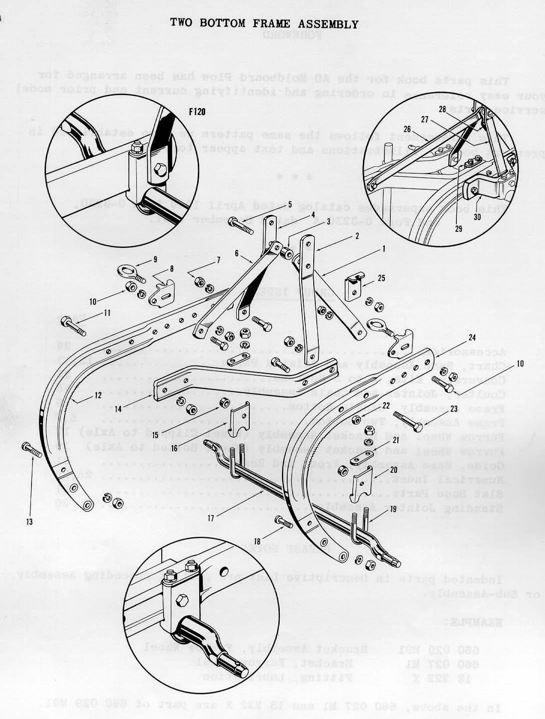 ferguson ao mouldboard plows parts book rh ntractorclub com  Brush Hog Manual