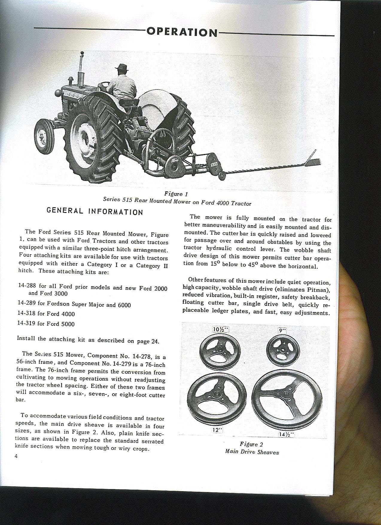 Ford 1715 Manual Service Repair & Owners Operators