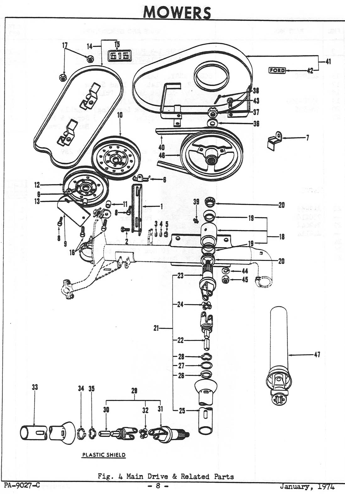 Ford 1710 Diagram : Ford tractor parts diagram bing images
