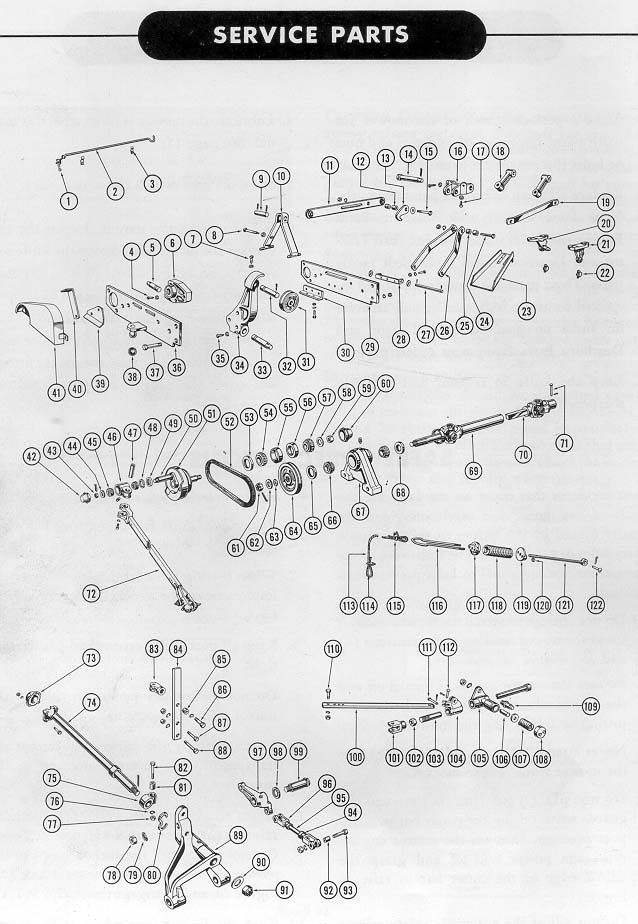 ford 515 sickle mower manual
