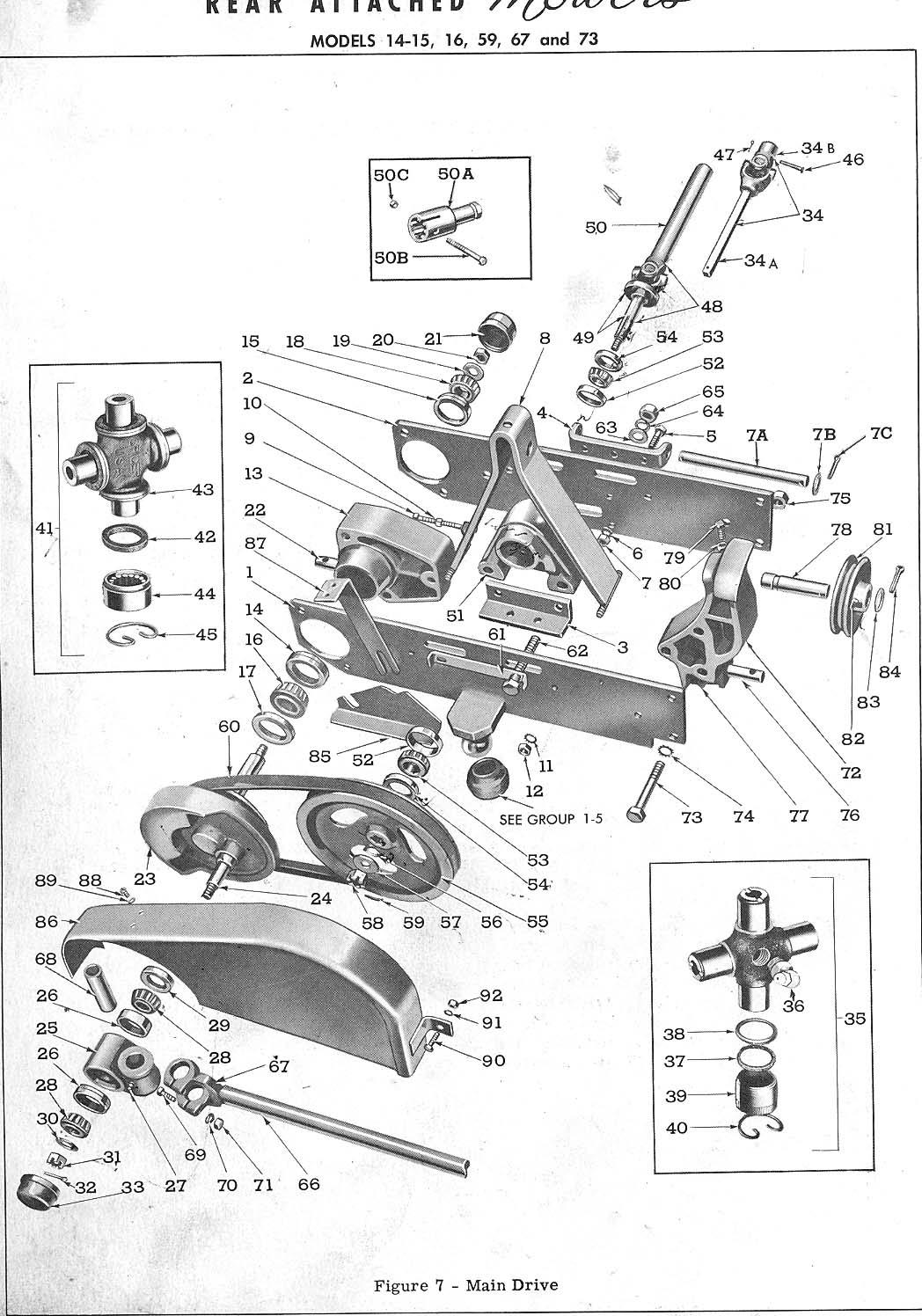 Page Main Drive Diagram