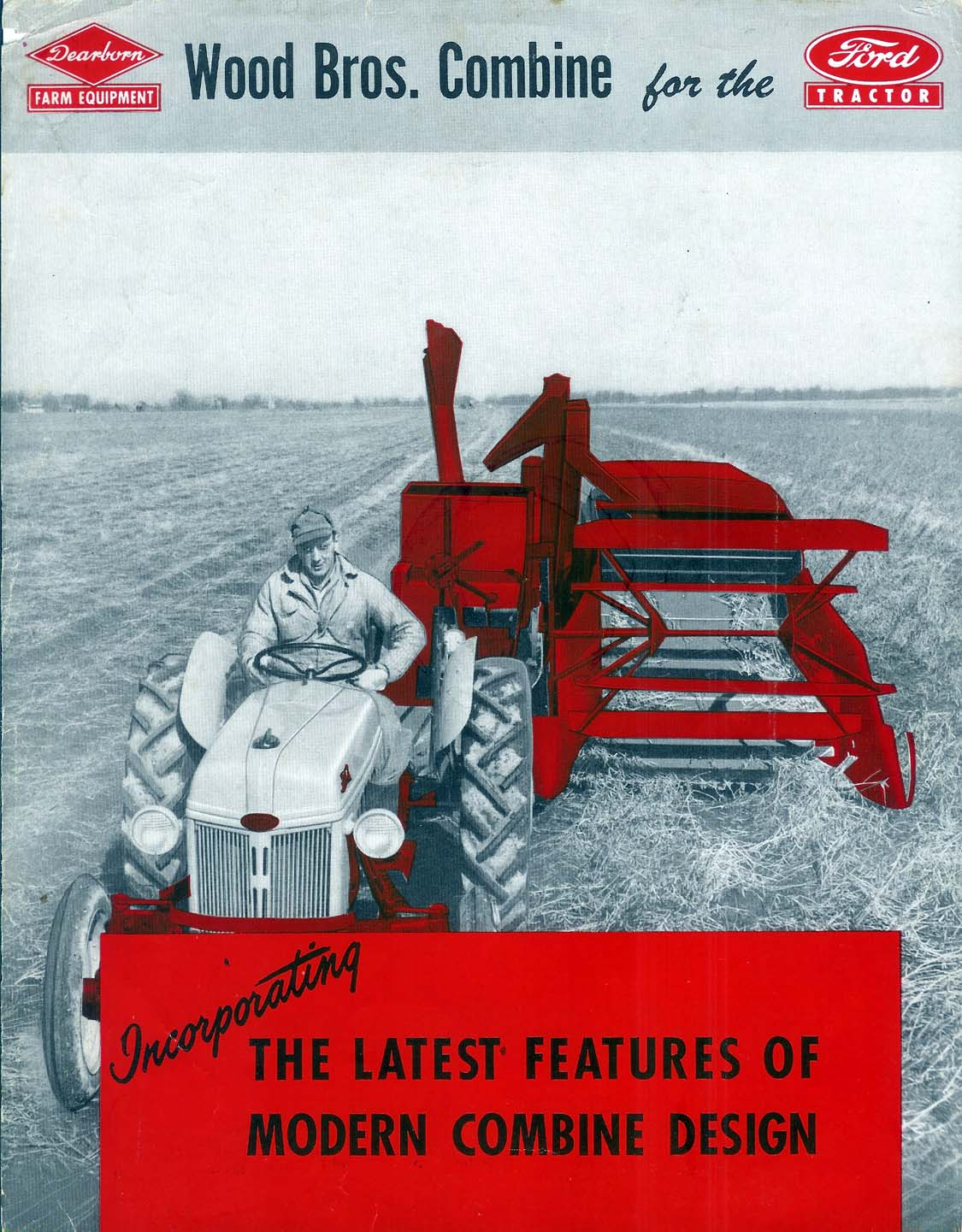 Ford Model A >> Wood Bros. Combine - 1948 Ad