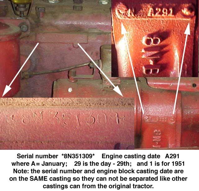 Ford Tractor Serial Numbers : Serial number ford tractor autos we