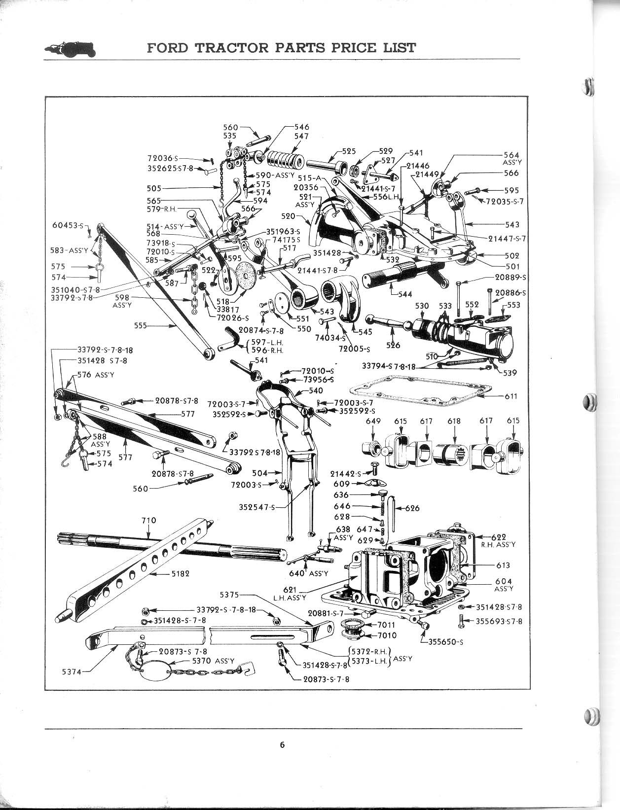 Ford 2n Tractor 6 Volt Wiring Diagram Library 8n Parts For Free Engine