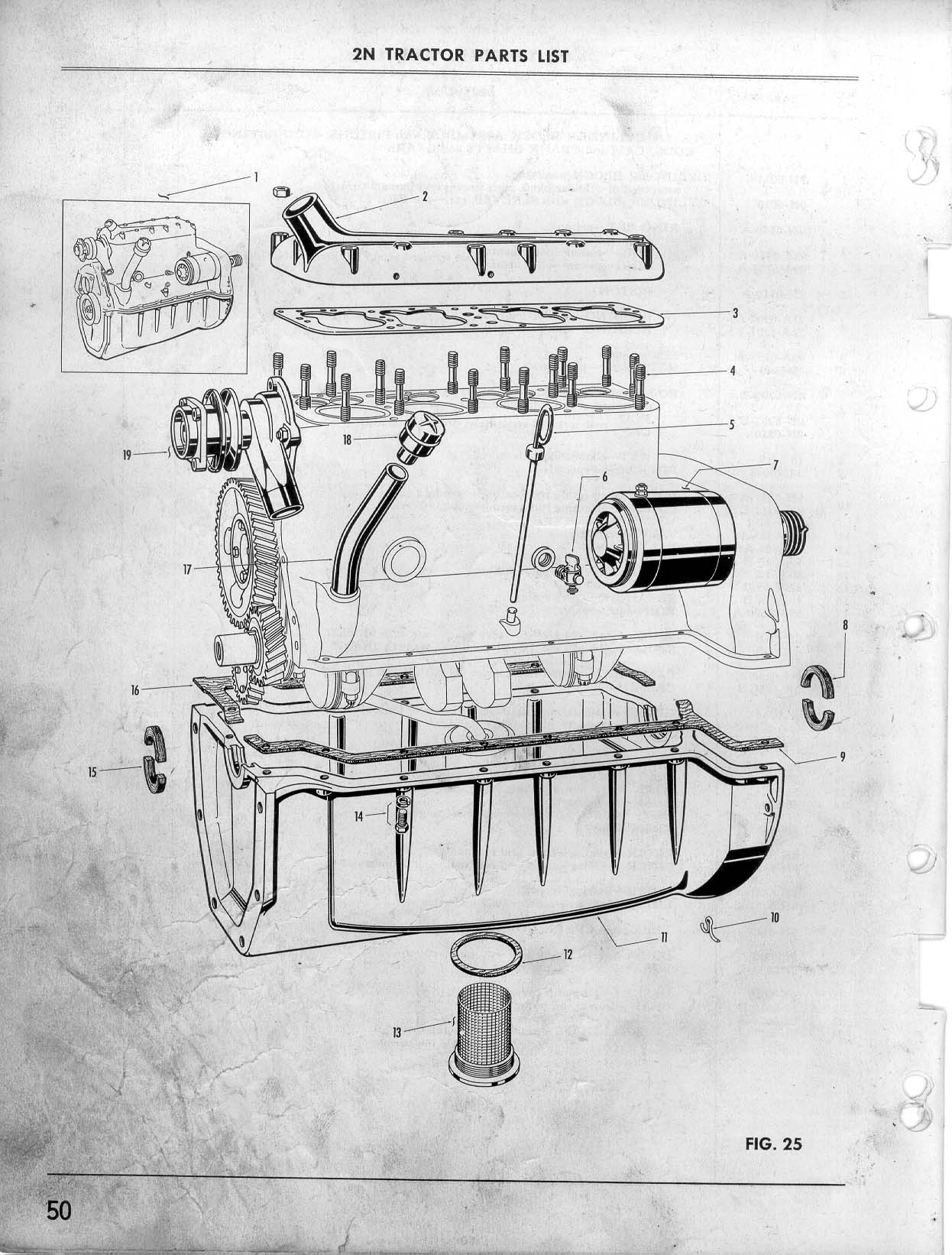 9N Ford Tractor Parts Diagram on Ford 800 Tractor Parts Diagrams