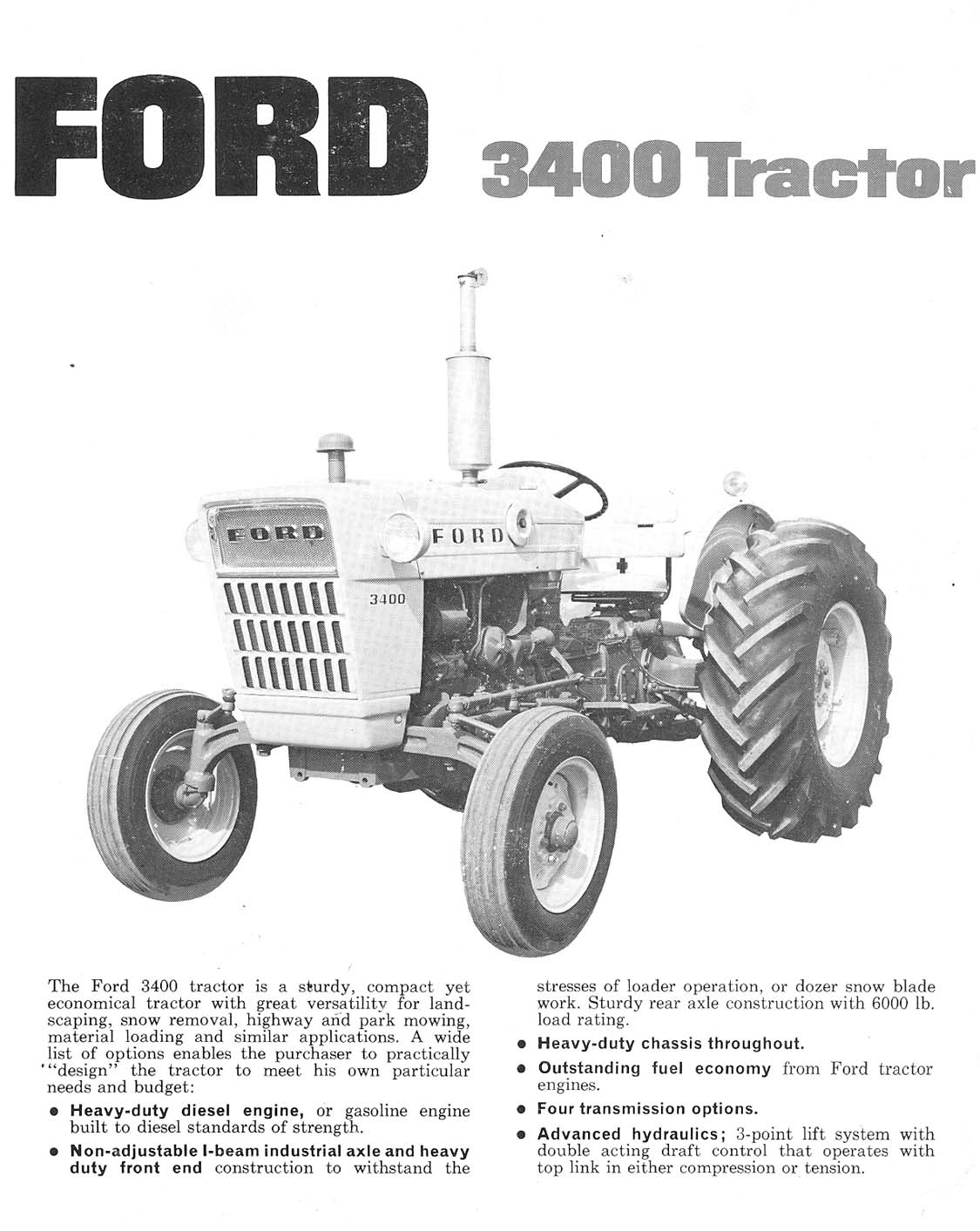 Re  Ford 3400 Stage-2 Tractor