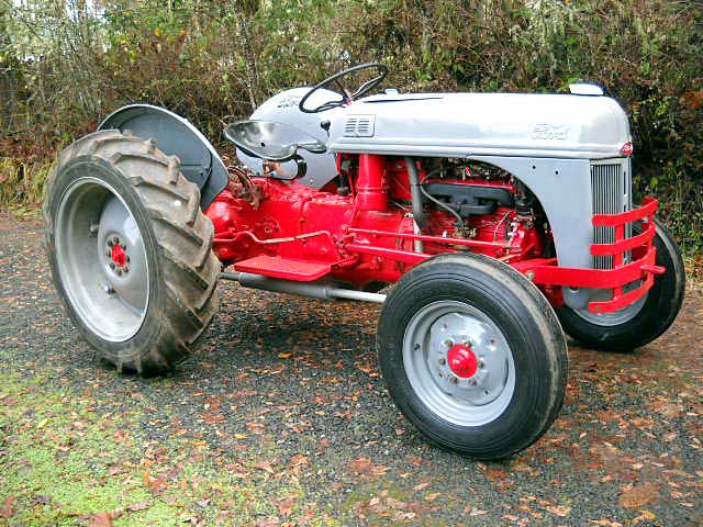 1950 Ford 8n Tractor Parts : N ford tractor registry thru autos post