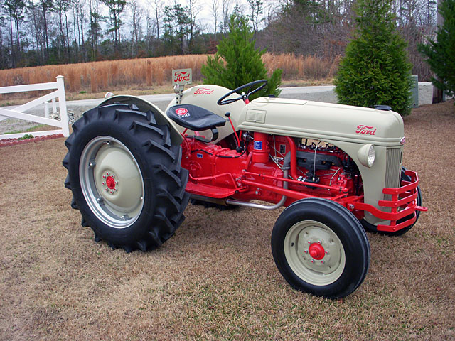 8N & Newer Ford Tractor Registry (1951 and up)