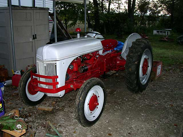 1946 8n Ford Tractor : N ford tractor registry