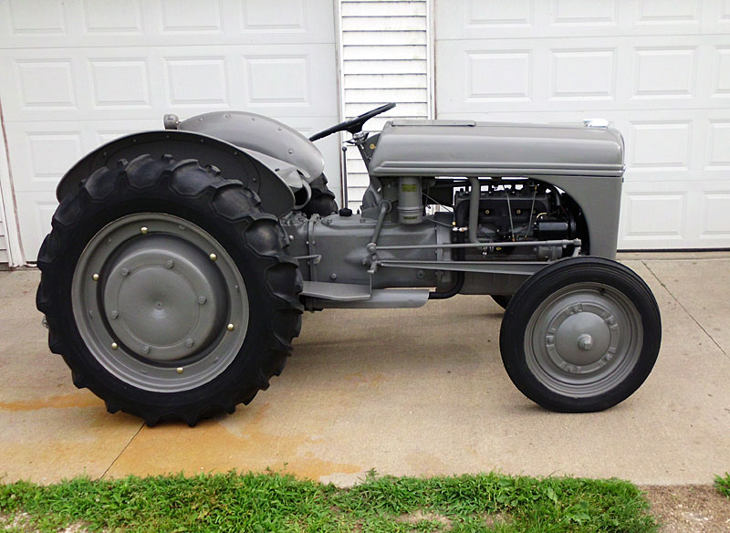 8n Tractor Fender Bolts : N ford tractor registry
