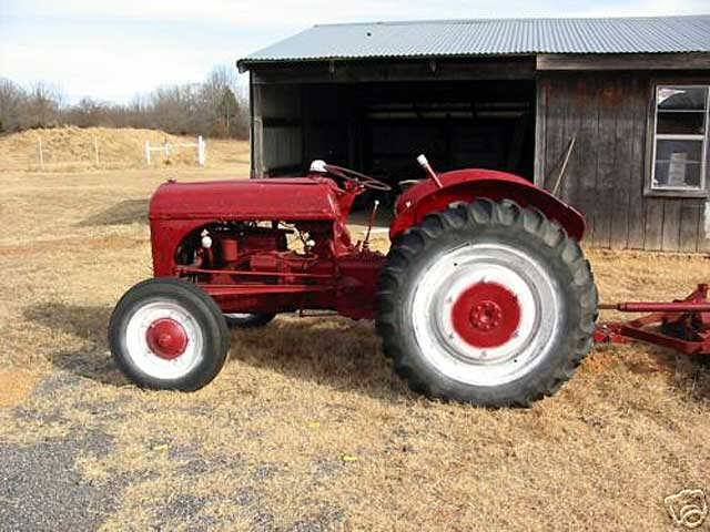 Ford 9n Mower : Ford n tractor value