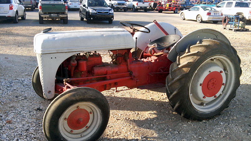 Ford Tractor Auger Parts : Ford tractor specs n parts yesterdays