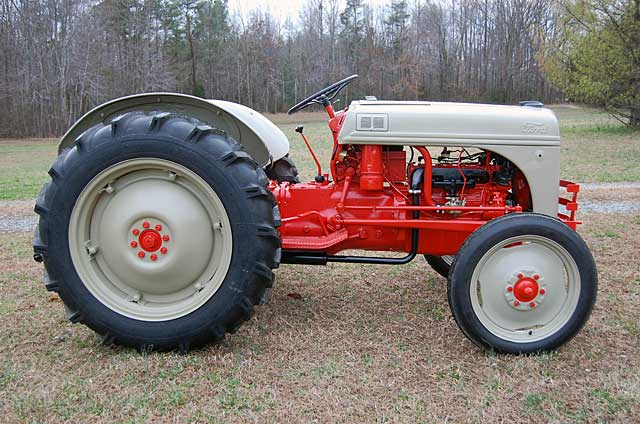 8n Ford Tractors : N newer ford tractor registry and up
