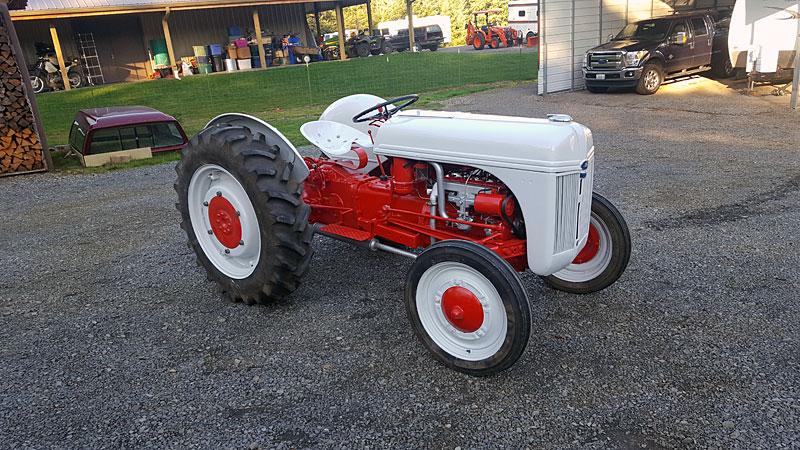9N & 2N Ford Tractor Registry
