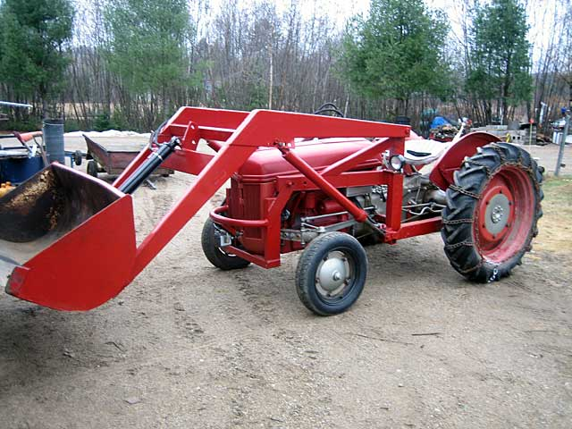 Ford 9n Loader : N ford tractor registry