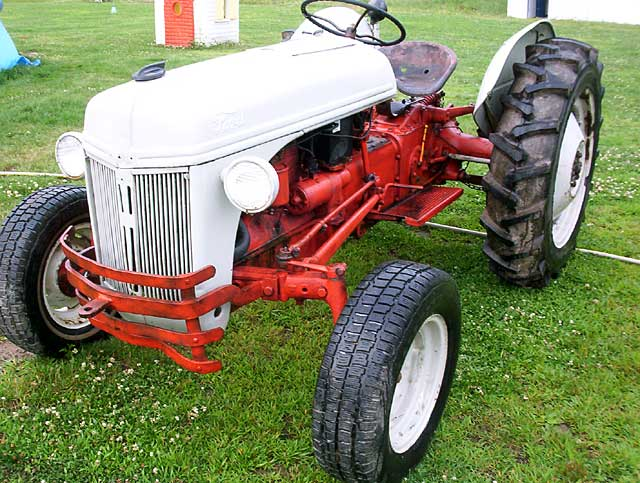 1950 Ford Tractor : N ford tractor registry thru