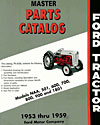 1953-59 Tractor Parts Catalog Image